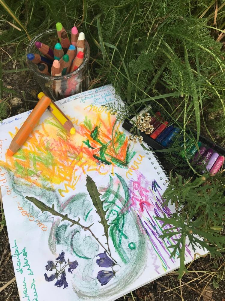 Journal Créatif Inspiration Nature